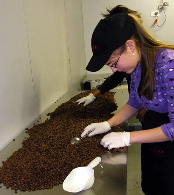 Видови кафиња според начинот на печење