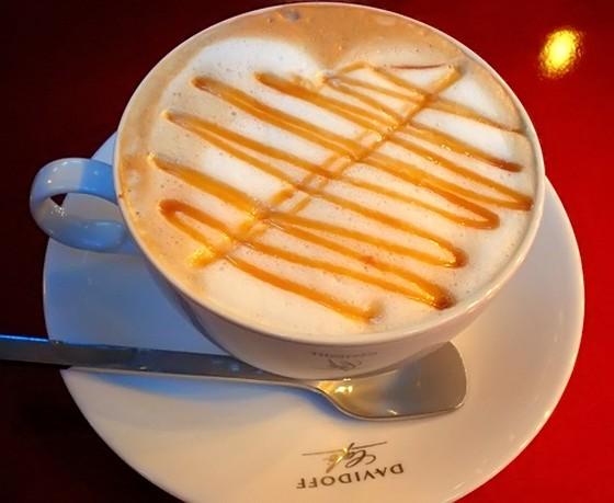 Лате со шмек на тиква (Pumpkin spiced latte)