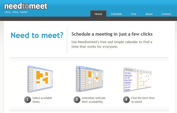 Планирајте ги состаноците со помош на онлајн апликации