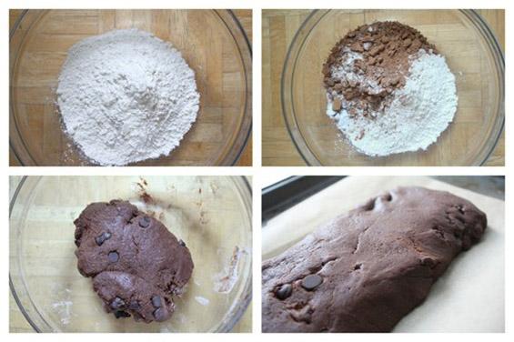 Чоколадни бисквити со кафе