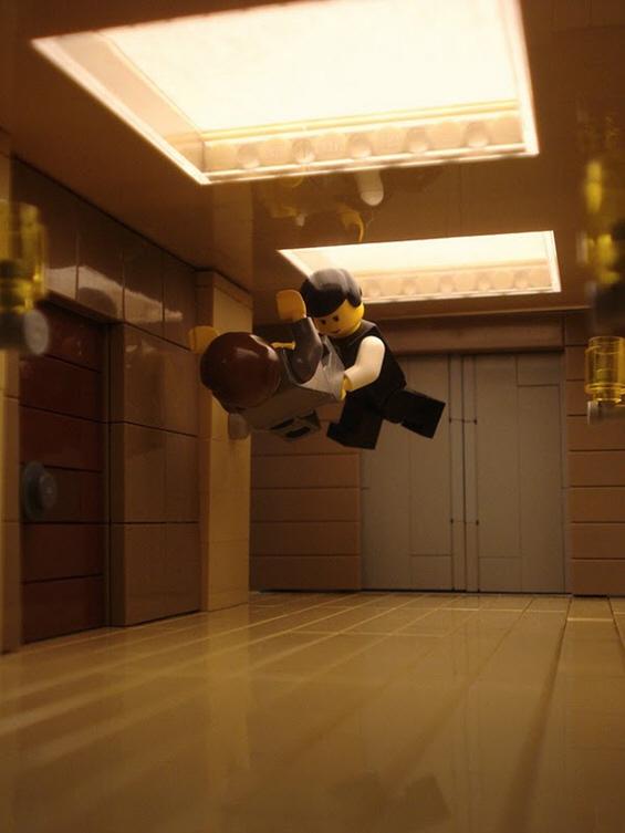 """Гледајте го """"Inception"""" низ сцени од лего коцки"""