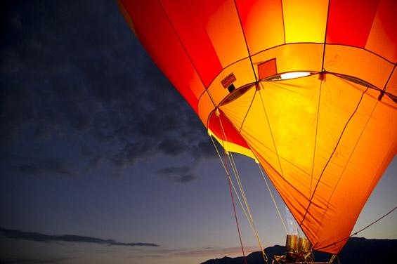 Фотографии од фестивалот на балони на топол воздух во Албакурки