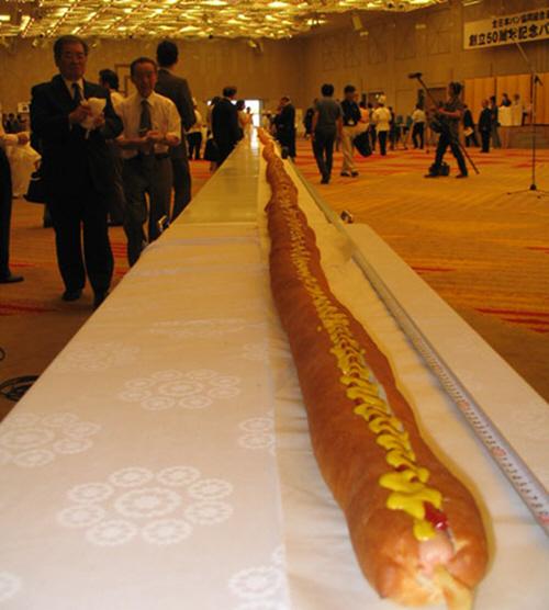Светски рекорди поврзани со храна