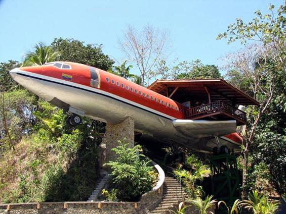 Хотел сместен во Боинг 747