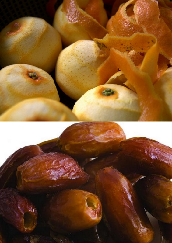 Мароканска салата со портокали и урми