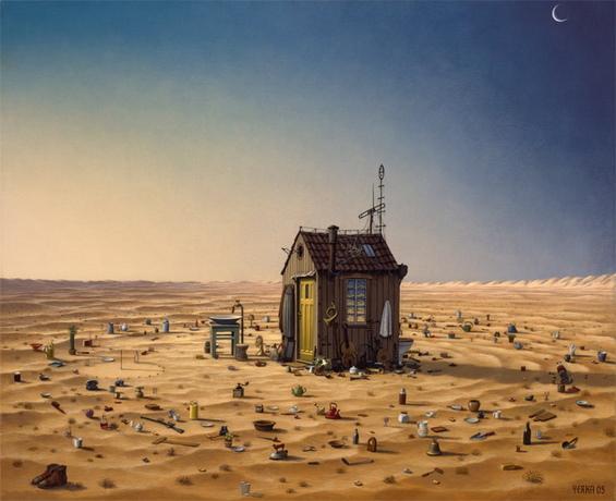 Надреализам на Jacek Yerka