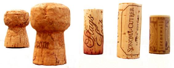 Како да ги употребите тапите од вино?