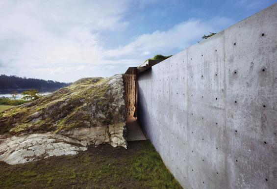 Прекрасна куќа сместена во карпа