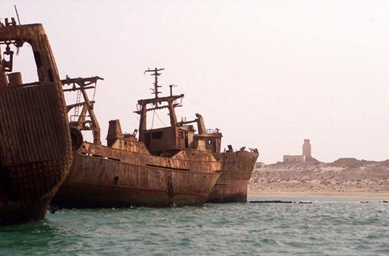 Пристаништето на напуштените бродови