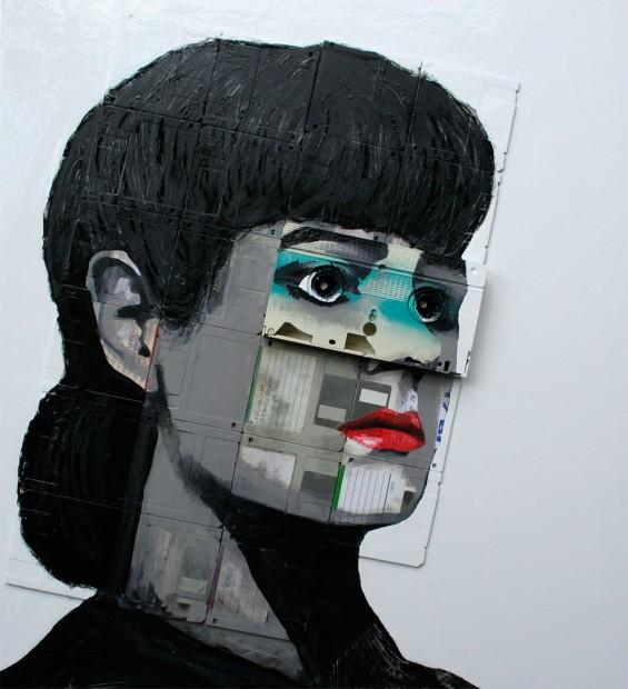 Уметност од флопи дискови