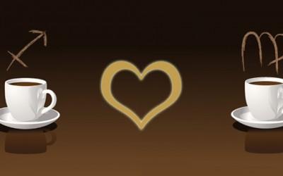 Стрелец и девица – љубовна комбинација
