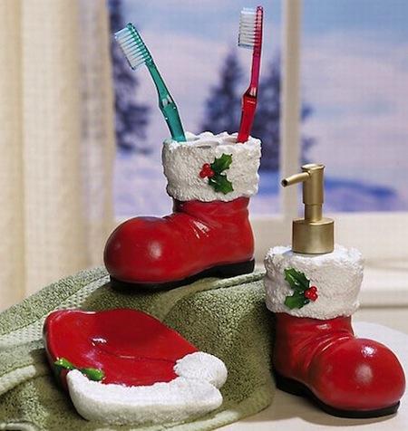 Интересни божиќни додатоци за вашата бања