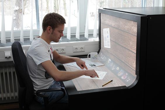 (4) BendDesk - работна маса и монитор во едно