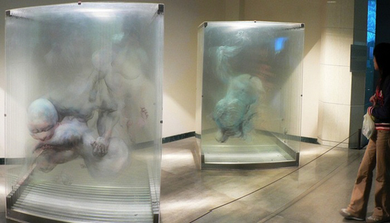 Чудесни стаклени тридимензионални слики