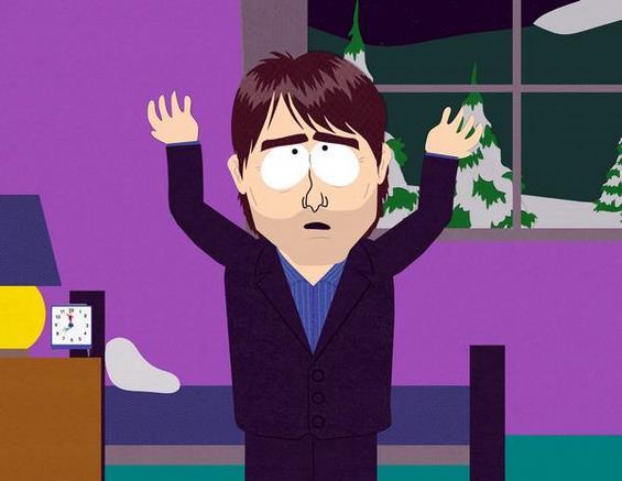 Познатите во South Park