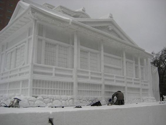 Величествени снежни креации