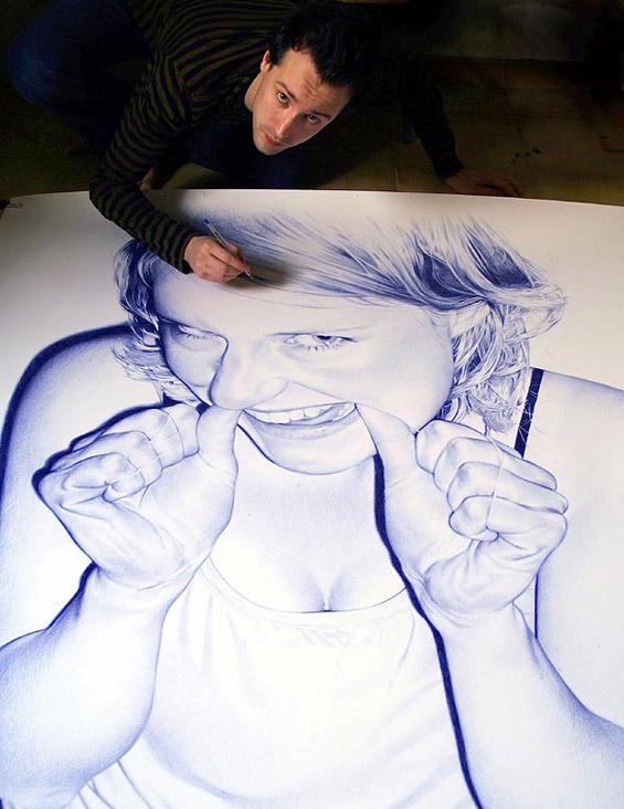 Неверојатни фотореалистични цртежи