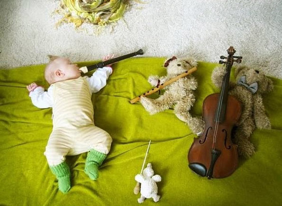 Додека бебето спие...