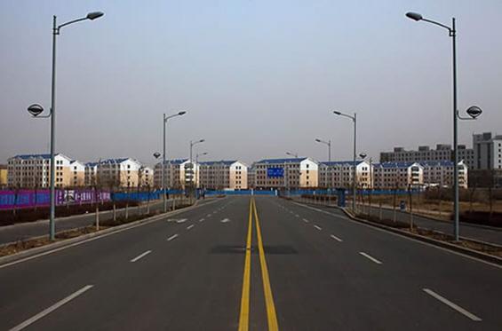 Градот на духови во Кина