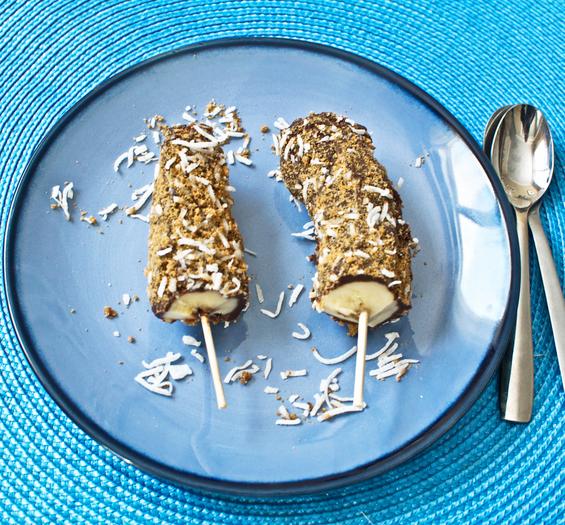 Замрзнати чоко банани