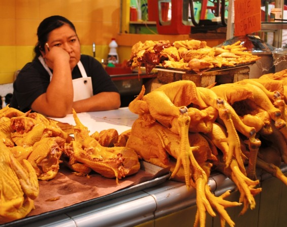 Боите на пазарите во Мексико