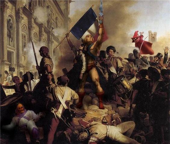 french revolution art - 500×424