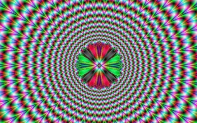 Оптички илузии кои си поигруваат со вашиот мозок