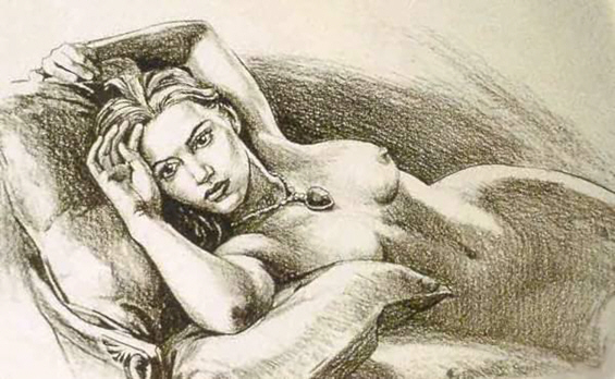 """Сликата со голата Кејт Винслет од """"Титаник"""" на продажба"""