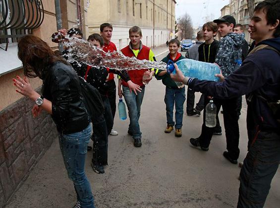 Mокриот понеделник во Полска