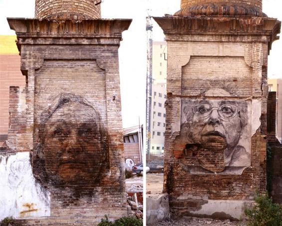 Ѕидови оживеани од креативноста на уметниците