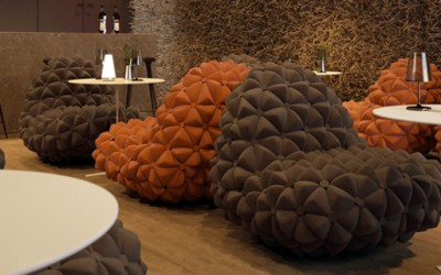 Медитативен луксузен ресторан инспириран од торнадото