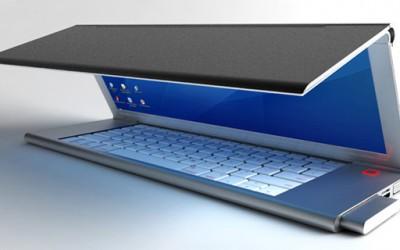 Ултрапренослив лаптоп на превиткување