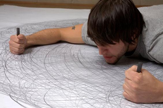 Црта со целото тело