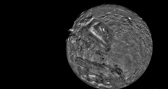 Сината планета Уран