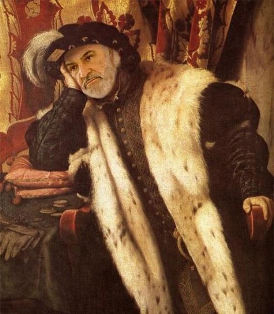 Познатите фаци заробени во ренесансата
