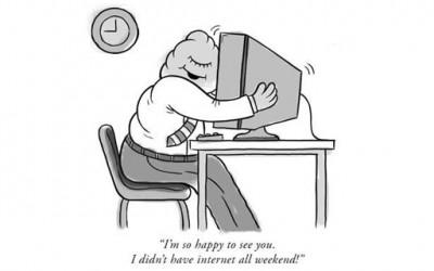 10 смешни знаци дека сте компјутерски зависник