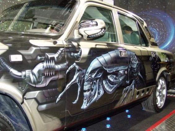 Уникатно насликани автомобили