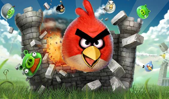 """Неверојатна реклама: """"Angry Birds"""" во живо"""