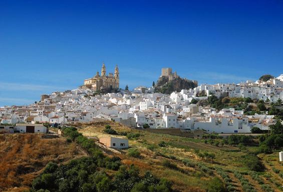 Прекрасното бело село во Шпанија