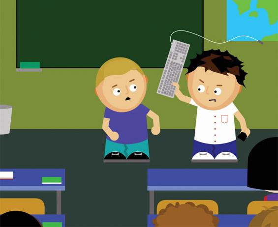 Што не треба да прават децата на интернет?