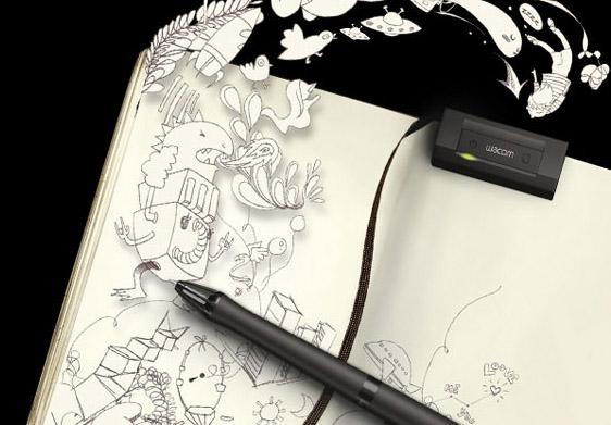 Дигитално пенкало кое црта на хартија