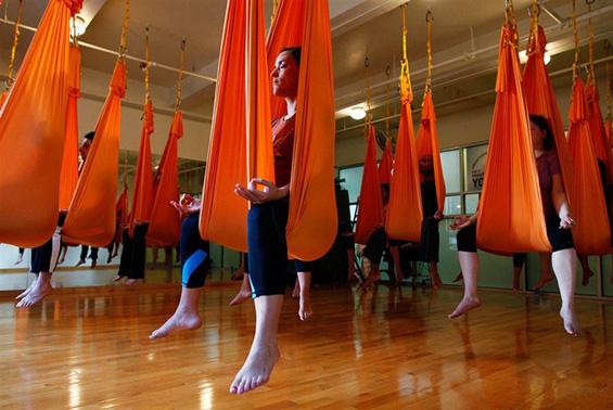 Антигравитациска јога