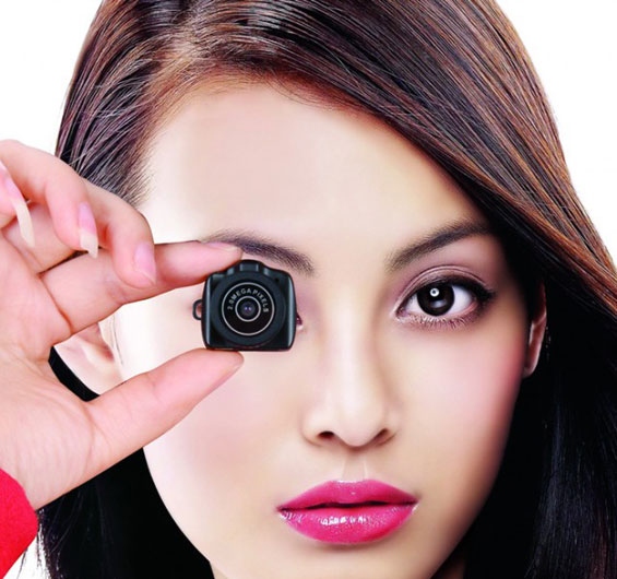 Најмалиот фотоапарат во светот голем колку џамлија
