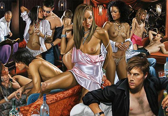 Сексуално експериментирање во фотореалистични слики