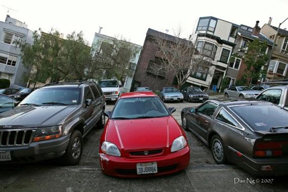 Кривите улици во Сан Франциско