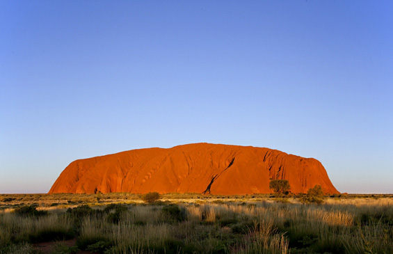 Црвеното срце на Австралија