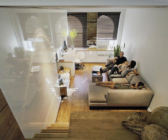 Совршен мал стан во Њујорк
