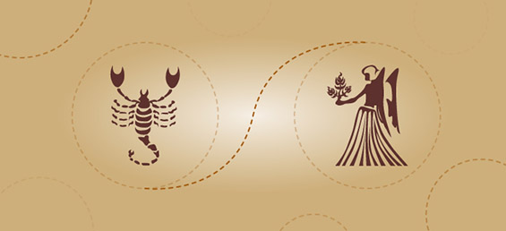 Скорпија и девица - пријателска комбинација
