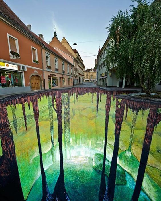 Фасцинантна 3Д улична уметност