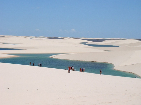 Поплавената пустина во Бразил